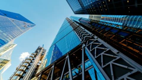 vídeos y material grabado en eventos de stock de rascacielos en londres, inglaterra, reino unido - negocio corporativo