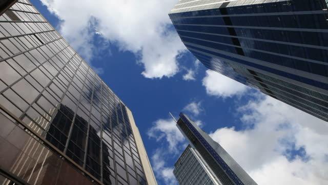 超高層ビル - ローアングル点の映像素材/bロール