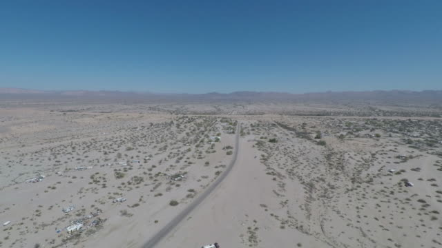 Slab City Desert Aerial East Jesus video