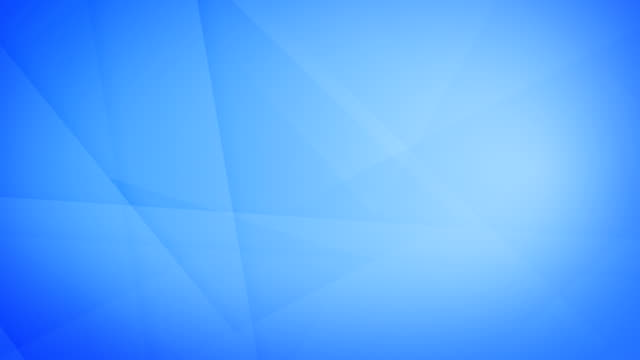 Slanted, angled and sharp cornered abstract dark blue geometric shapes, rectangles, triangles, squares meshing each other and floating around loop able seamless 4k background video