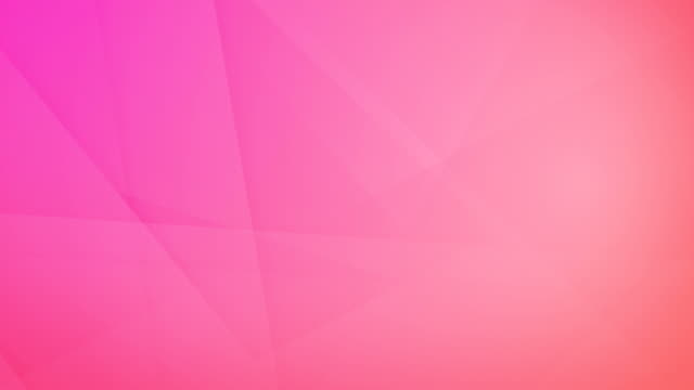 vídeos de stock e filmes b-roll de slanted, angled and sharp cornered abstract pink geometric shapes, rectangles, triangles, squares meshing each other and floating around loop able seamless 4k background video - padrão repetido