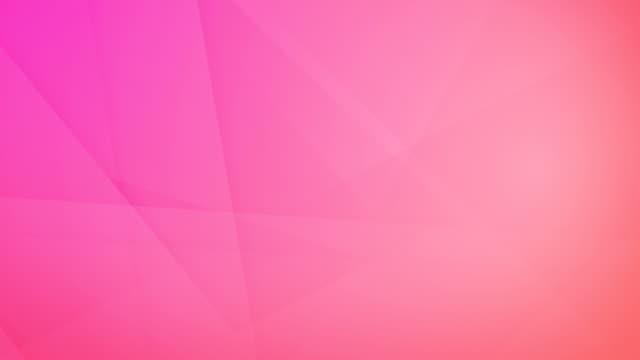 斜め、斜めと鋭い追い詰め抽象ピンクの幾何学的形状、長方形、三角形、正方形が互いにメッシュを作成し、ループの周りにフローティングシームレスな4k の背景ビデオ - ピンク色点の映像素材/bロール