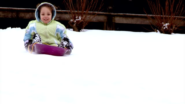 Sled Riding video