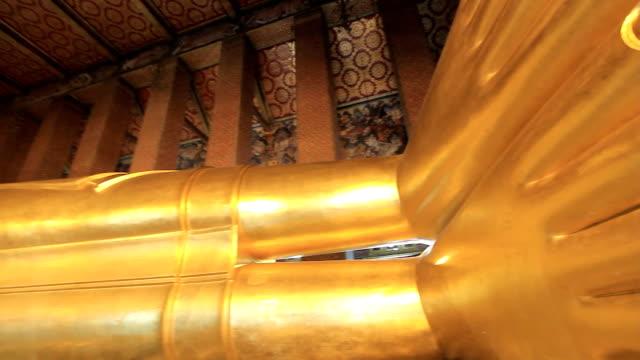 Sleeping Buddha. video