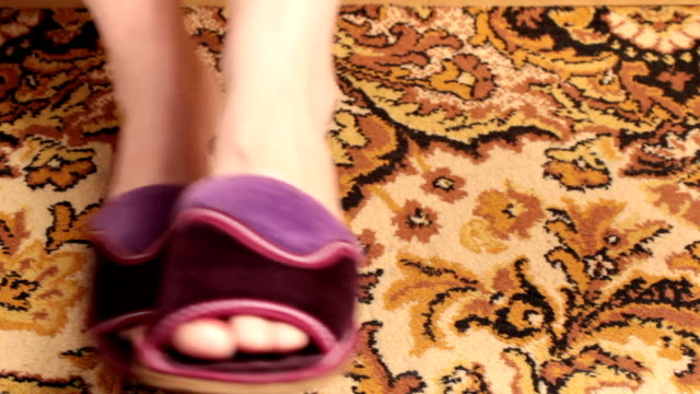 Slippers. video