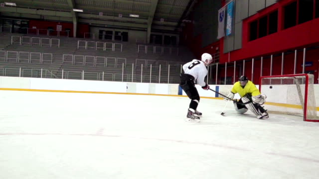 HD: Slo-Mo Shot of Young Man Having Penalty Shot video