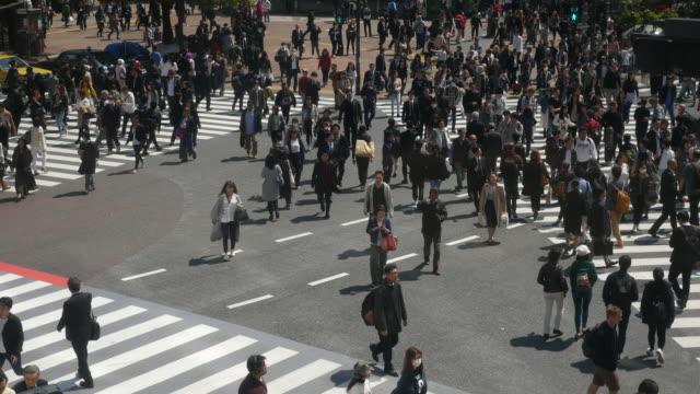 ジャンクションで観客 slomotion 人 - 雑踏点の映像素材/bロール