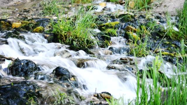 Slovenian keys waterfall.