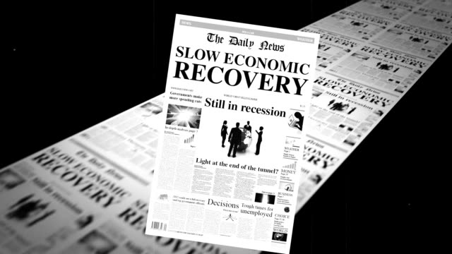 Slow Economic Growth video