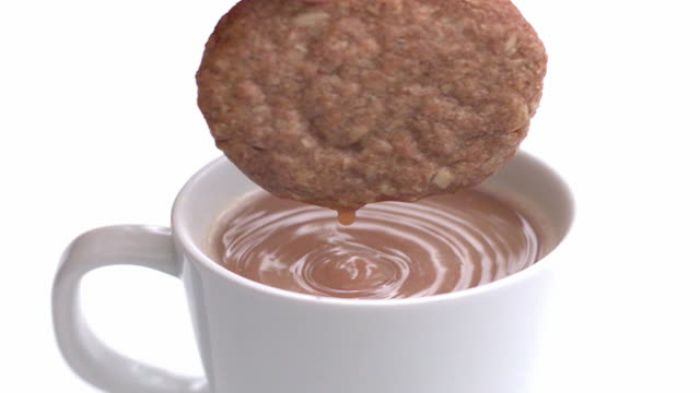 Slow Motion Biscuit Dunk video