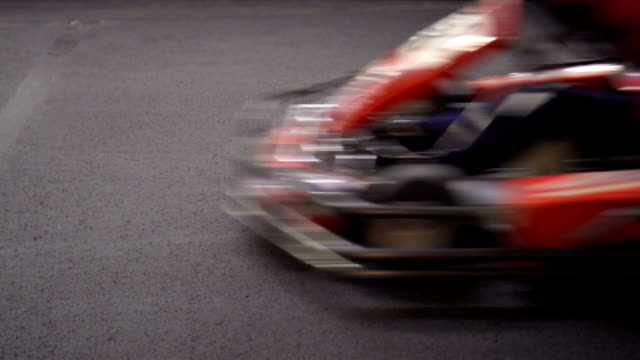 Slow motion: Gocarting Slow motion: Gocarting go cart stock videos & royalty-free footage