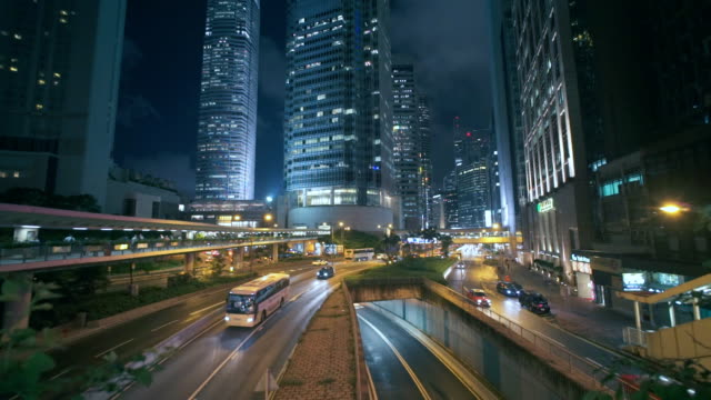 Slow motion :Hongkong Crossroad video