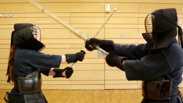スローモーション kendo - 武道点の映像素材/bロール