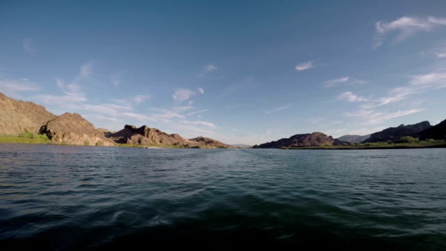 Slow Motion Moving Forward on colorado River