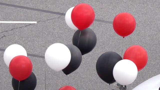 Zeitlupe fliegen Ballons Festival Coquitlam Grand Parade – Video