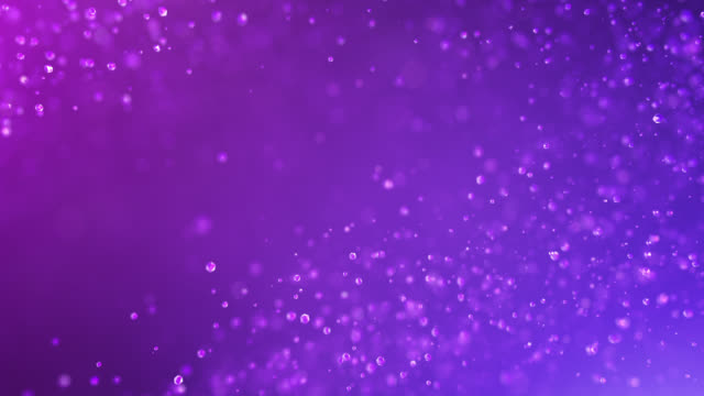 Slow Motion Particles (Purple) - Loopable