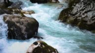 istock slow motion surface  water at the mountain river 1209029335