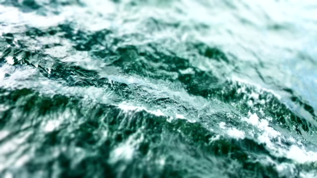 Slow Motion Waves Waves-Travel Destinations rack focus stock videos & royalty-free footage