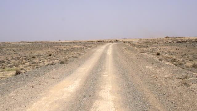 Slow Traffic on Desert Road video