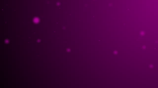 Slowly moving magenta bokeh, glitter lights, defocused light reflections on a colored gradient 4k loopable blurred motion video for concepts of winter, snow, love, transitions, Christmas, party-social events, celebration events, birthday events Moving around slowly magenta glitter lights, defocused light reflections, bokeh on a colored gradient background 4k loopable blurred motion video.  Length is less than 10 seconds, around 6 seconds. It can be used for winter, snow, love, Christmas, transitions, party-social events, celebration events, birthday events, and concepts. birthday background stock videos & royalty-free footage
