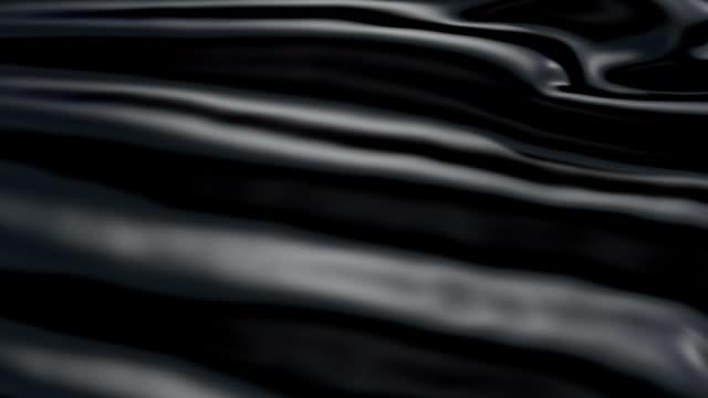 Slowly waving black background video