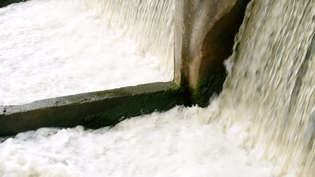 sluice water gate - canale video stock e b–roll
