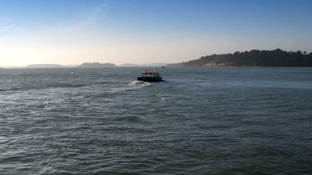 Small boat goes to Brownsea island video