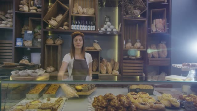 kleine business  - bäckerei stock-videos und b-roll-filmmaterial