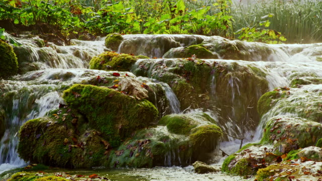 DS Small cascades at Plitvice Lakes National Park