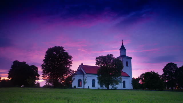 TIME LAPSE: Small Church in Sweden