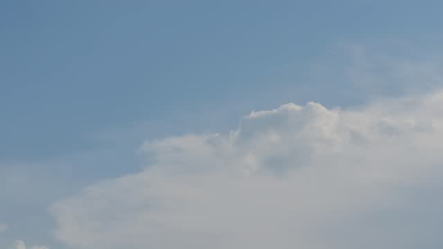 small clouds in the sky