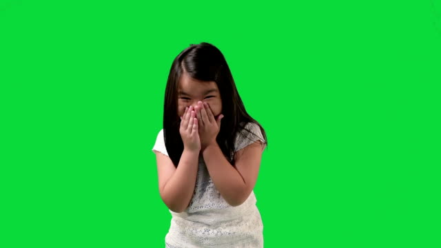 Small Happy Girl Laughing video