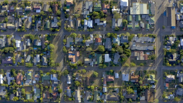 small town living keeps you grounded - geografia fisica video stock e b–roll