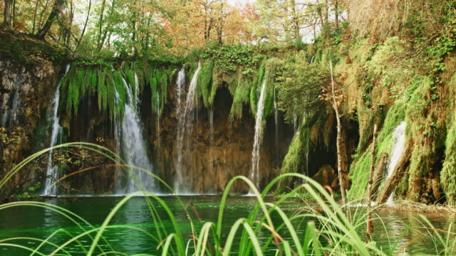 DS Small waterfalls at Plitvice Lakes National Park