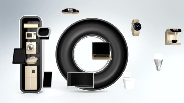 Smart appliances in word IoT. video