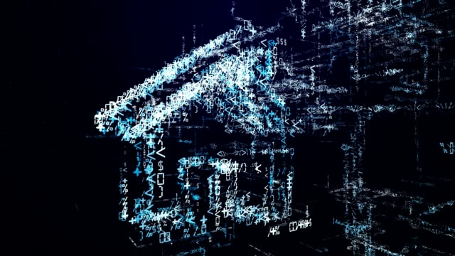 Smart home icon on motherboard, smarthome house automation remote control concept Smart home icon on motherboard, smarthome house automation remote control concept housing logo stock videos & royalty-free footage