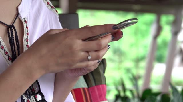 Smart phone close up