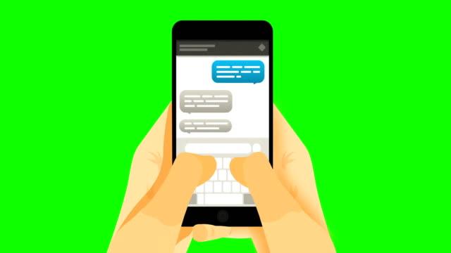 smartphone auf greenscreen - schriftrolle stock-videos und b-roll-filmmaterial