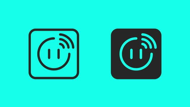 Smart Plug Icons - Vector Animate
