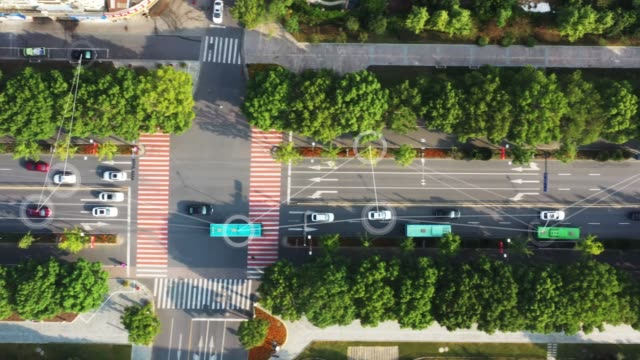 akıllı ulaşım - ulaştırma türü stok videoları ve detay görüntü çekimi