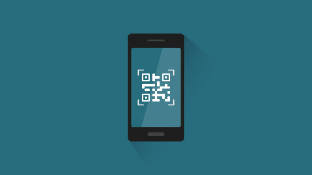 smartphone scannen ein qr-codes - strichkodeleser stock-videos und b-roll-filmmaterial