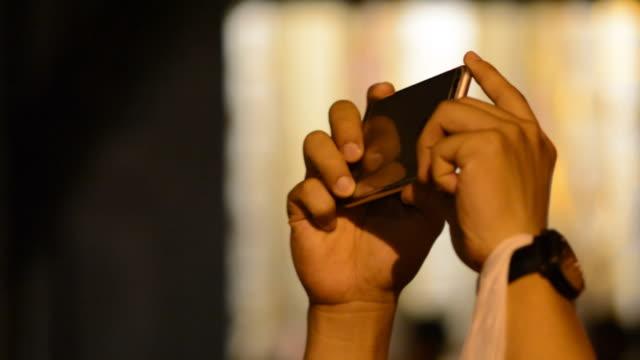스마트폰 - 영화 촬영 스톡 비디오 및 b-롤 화면