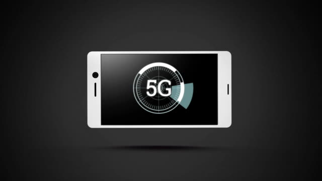 Smartphone with 5G speed