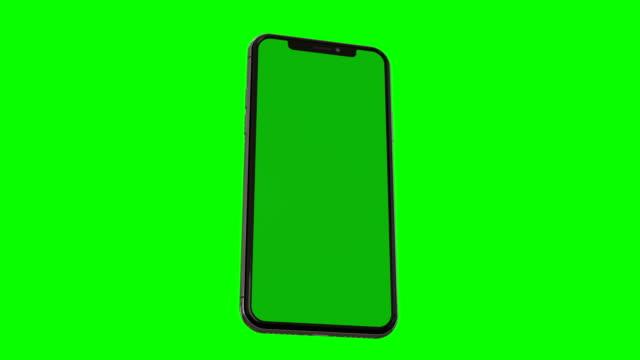 smartphone with green screen - smartphone стоковые видео и кадры b-roll