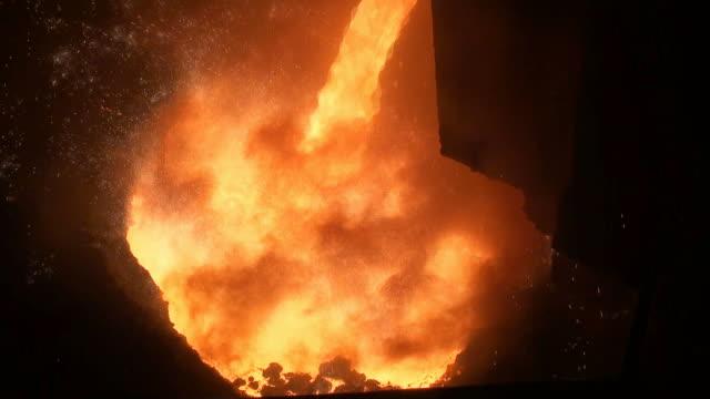 Smelting of liquid metal from blast furnace