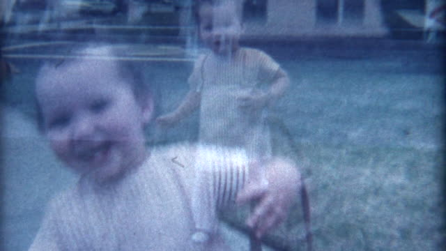Smiling Baby 1960's video