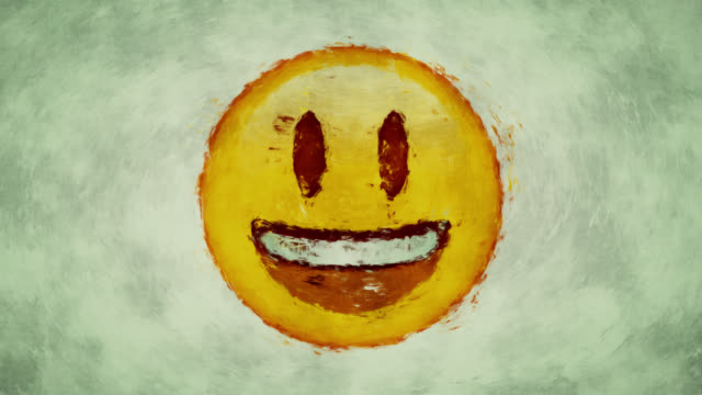 Smiling face video