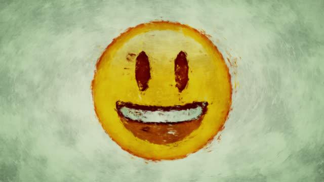 lächeln gesicht - smiley stock-videos und b-roll-filmmaterial