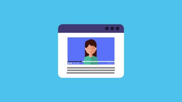 vidéos et rushes de blogueur influenceurs dans vidéo webinaire de formation en ligne de sourire - conférence en ligne