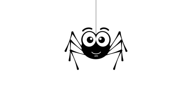 Smiling small spider.
